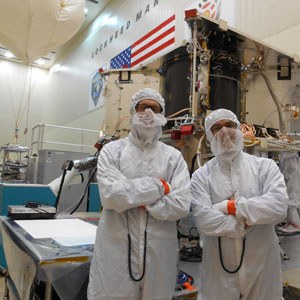 PI BLOG:  A Visit to the ATLO Floor