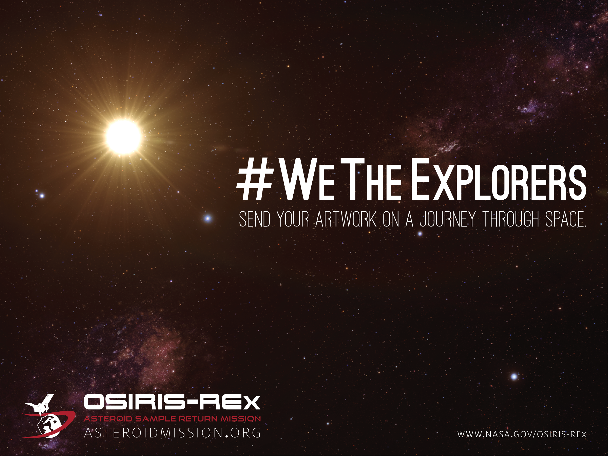 WeTheExplorers NASAgov OREx