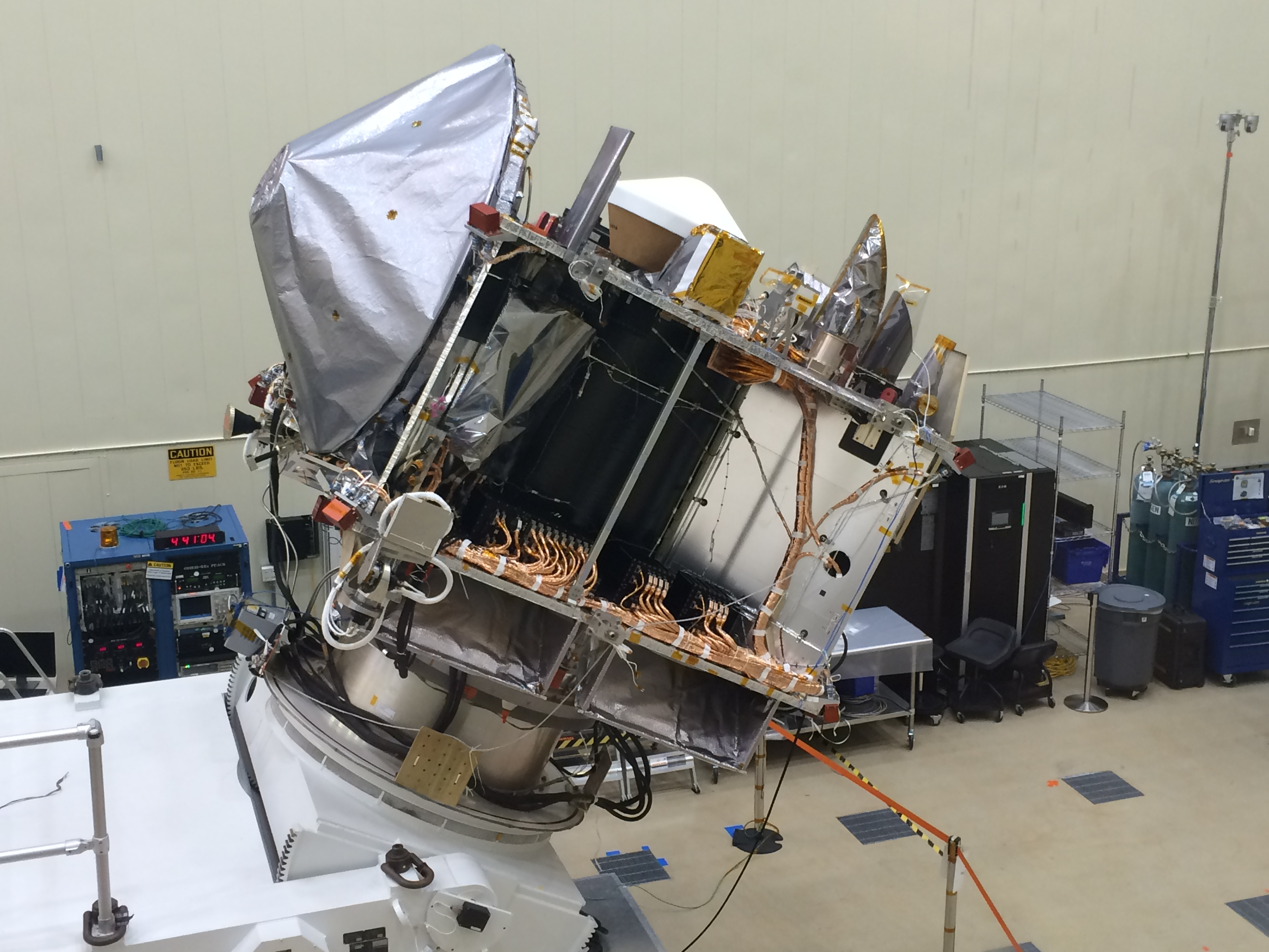 Spacecraft Ready for Pre-Ship Review
