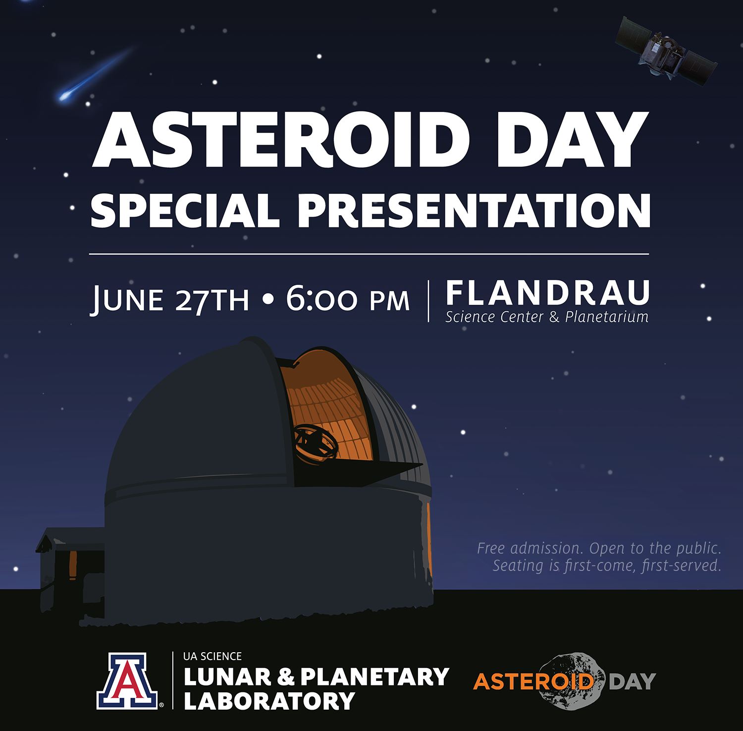 OSIRIS-REx Experts Featured in Asteroid Day Celebration