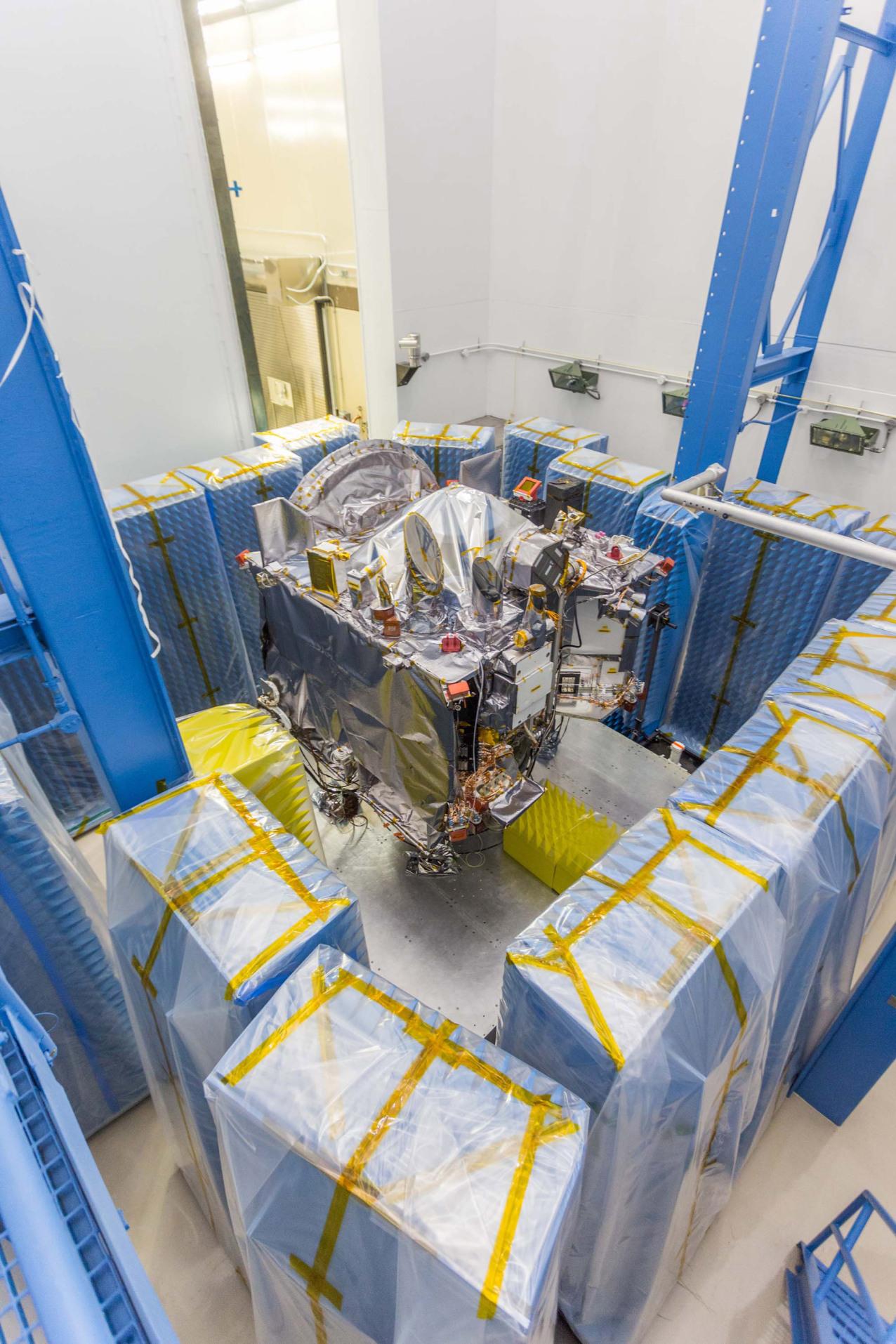 PI BLOG:  OSIRIS-REx Passes EMI/EMC Testing