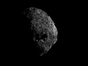 Southern hemisphere of asteroid Bennu