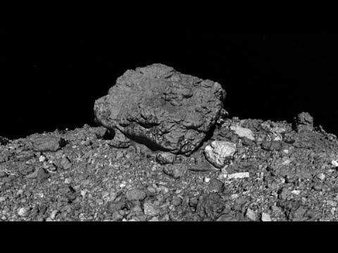 "NASA's ""Tour of Asteroid Bennu"" Selected for Prestigious Computer Graphics Film Festival"